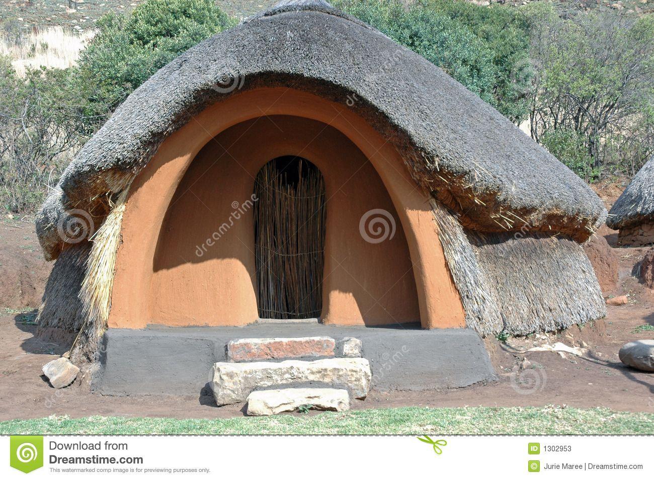 Basotho Hut. -