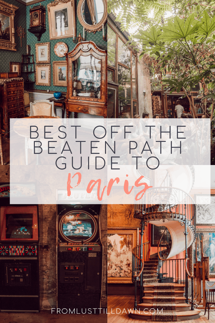 Looking for the best off the beaten path Paris guide? Check out everything I recommend from my multiple trips to Paris and recommendations from locals. // PIN FOR LATER // #paris #parisfrance #paristravel #localparis #offthebeatenpathparis #thingstodoinparis #parisbucketlist #francetravel #whattodoinparis