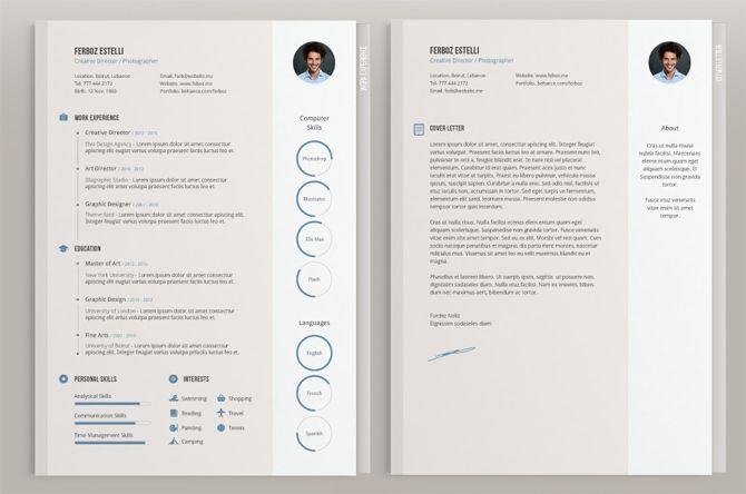 40 Free Printable Resume Templates 2018 to Get a Dream Job | Resume ...