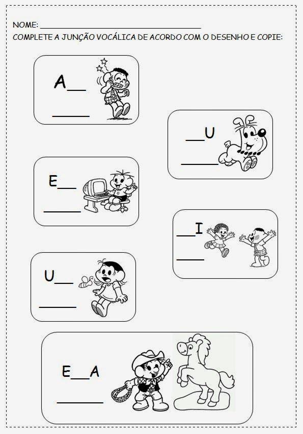 Atividades Com Vogais Para Alfabetizacao Infantil Em 2020
