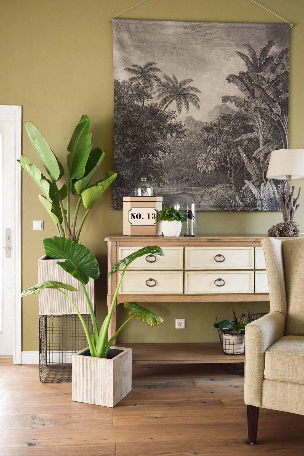 Mein neues Wohnzimmer: gemütlich, grün und mit einer Prise Abenteuer ...