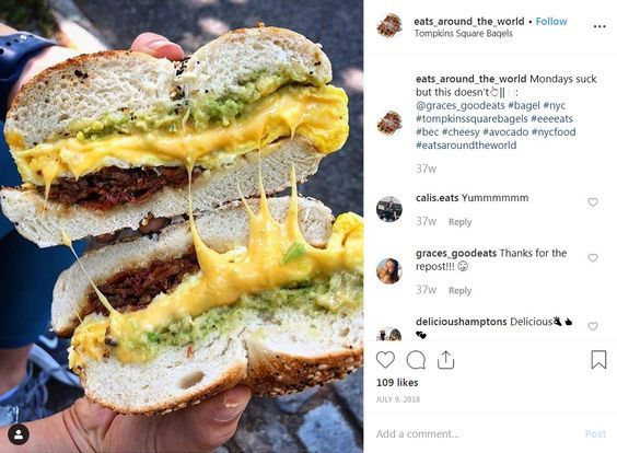 Top 5 Frühstücksspots in New York