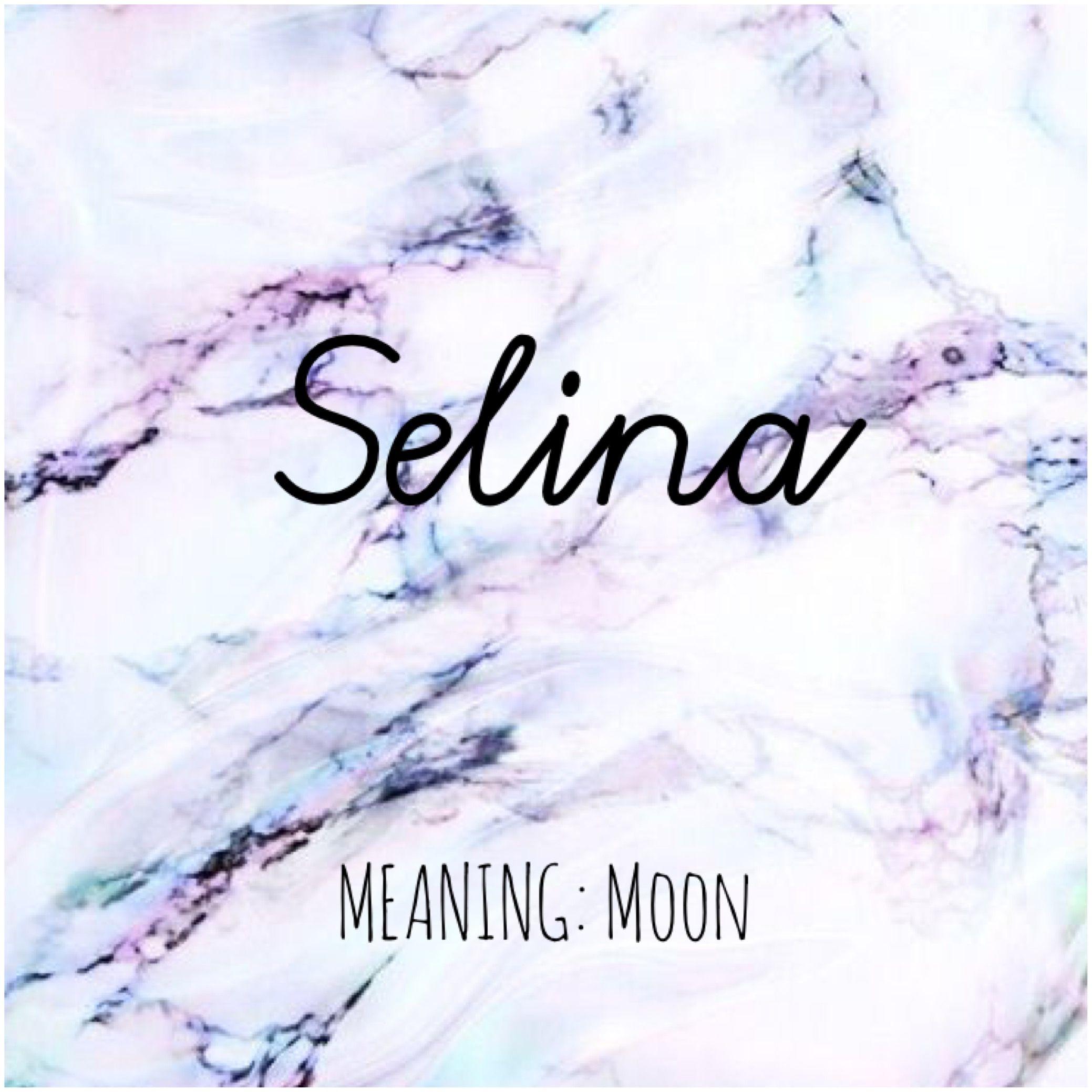 was bedeutet der name selina