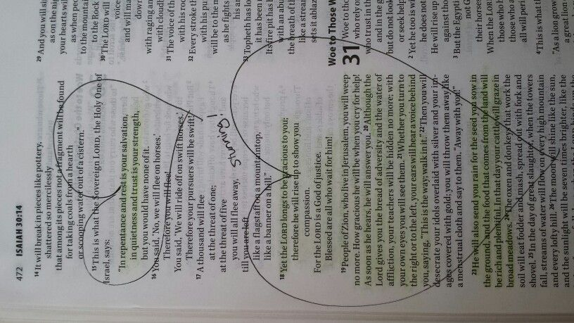 Isaiah 30 Rebellion vs Obedience Freedom fruitfulness & Friendship