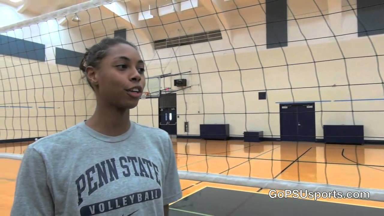 Penn State Women S Volleyball Mcclendon And Hancock Talk Setting Women Volleyball Penn State Volleyball Volleyball