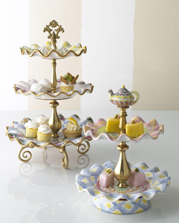 Honeymoon taylor tiered sweet stands mackenzie childs