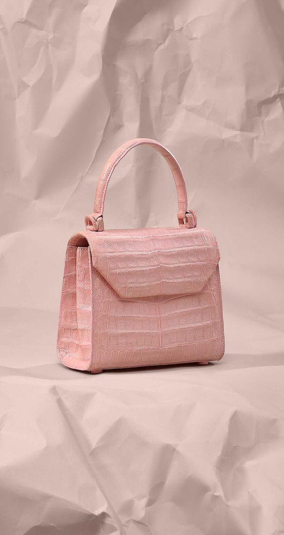 Photo of Designer Alligator Skin Shoulder Handbags Crossbody Bags with Gold Hardware