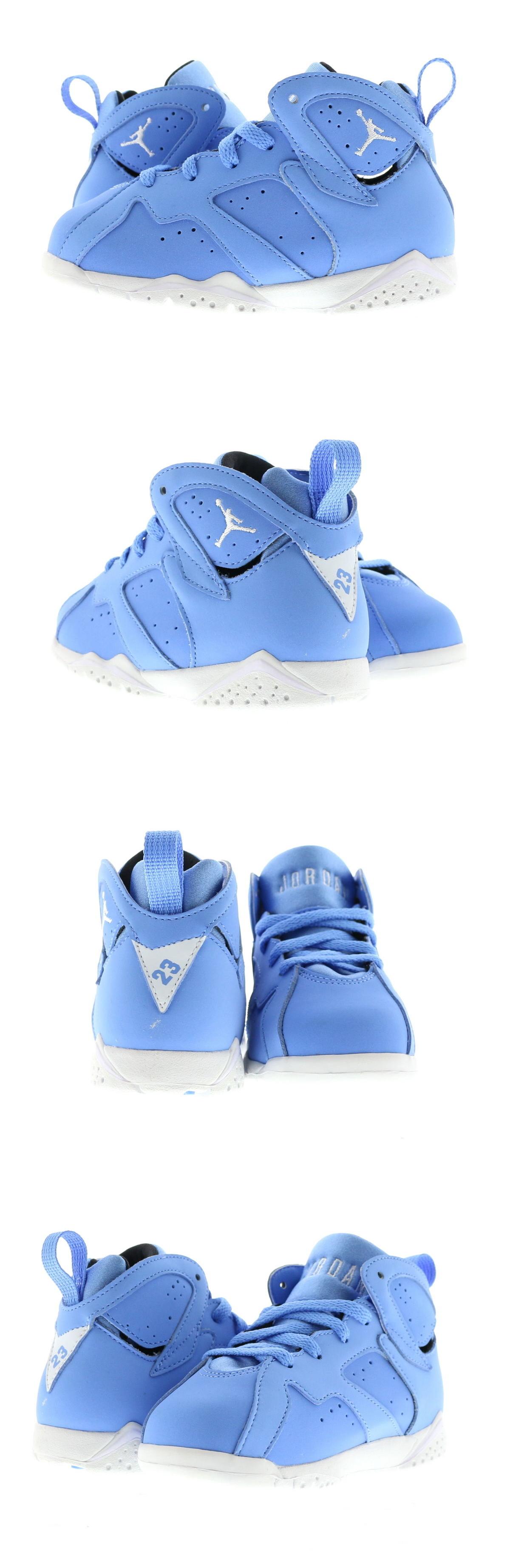 7df7cc90794c Baby Shoes 147285  Infant (Td) Air Jordan 7 Retro Pantone University Blue  White 304772-400 -  BUY IT NOW ONLY   45 on eBay!