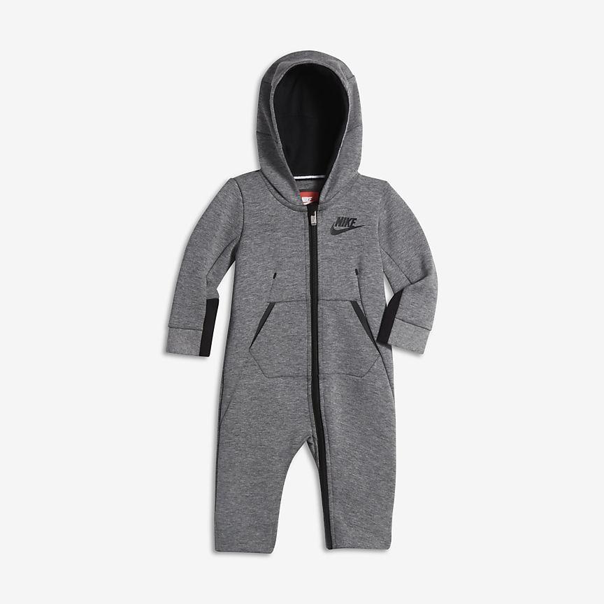 3c8e884e0 Tech Fleece Infant Hooded Coverall   L&C Reveal New   Nike tech ...