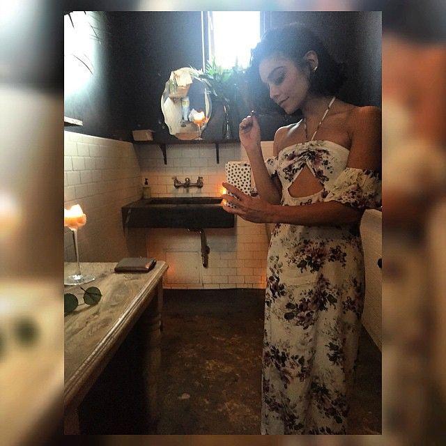 Bathroom selfie. I couldn't resist. Lol