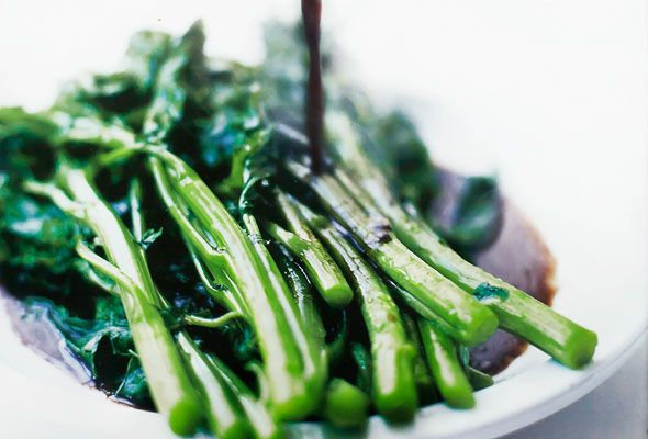 Broccoli Rabe with Balsamic Brown Butter