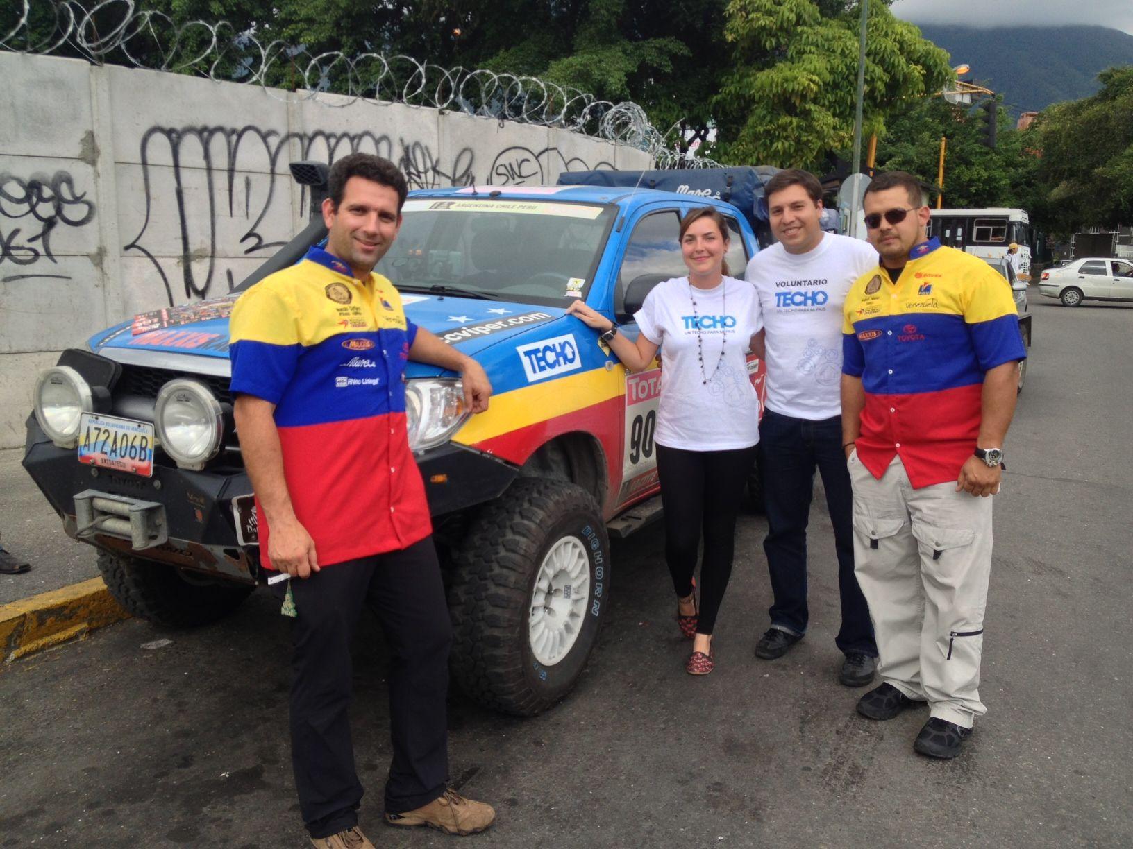#venezuela #dakar2013 #techo #ngo #rally #nomorepoverty #youth #collaborate #volunteer