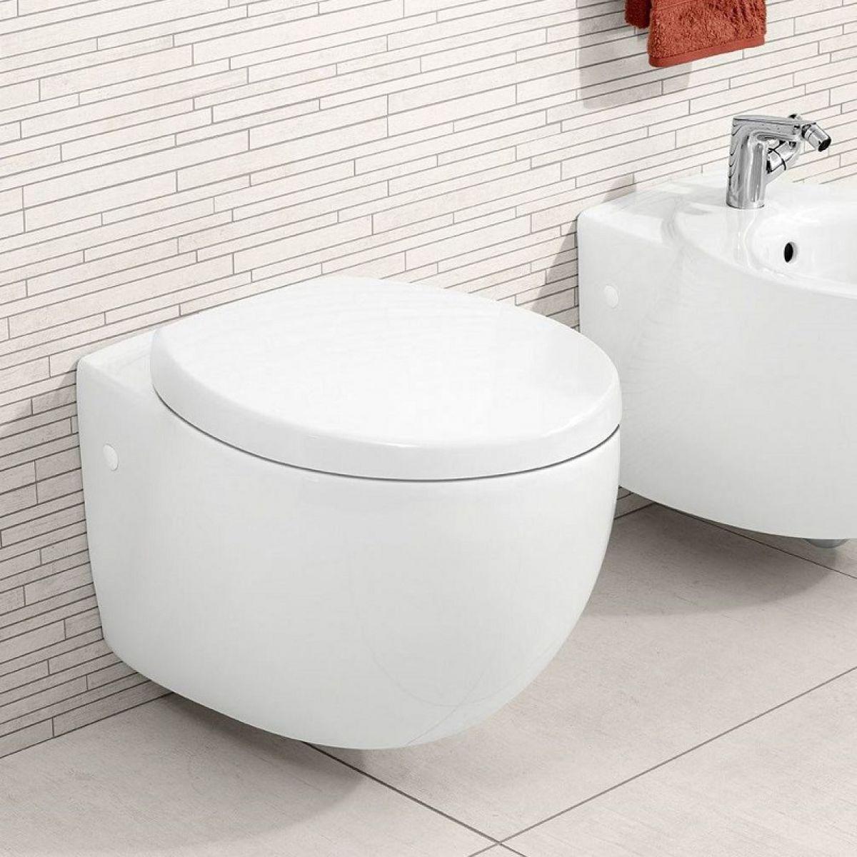 Villeroy Boch Aveo New Generation Wall Mounted Toilet Wall Hung Toilet Wall Mounted Toilet Luxury Toilet