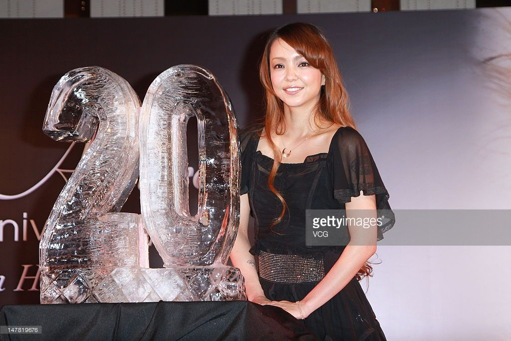 Japanese singer Amuro Namie attends a press conference to promote her new album 'Uncontrolled' at W Hotel on July 3, 2012 in Hong Kong, Hong Kong.