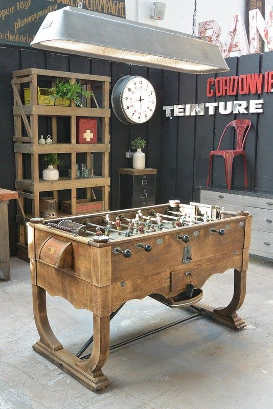 baby foot swinnen vers 1930 awesome vintage game room arcade en 2019 pinterest jeux baby. Black Bedroom Furniture Sets. Home Design Ideas