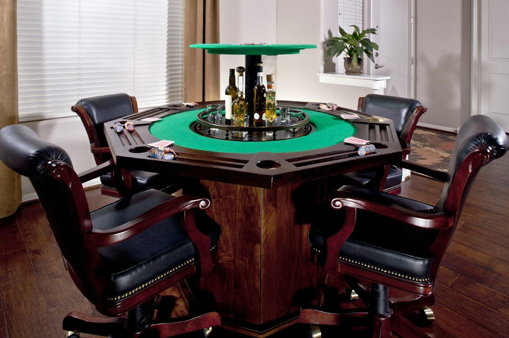 Hidden Bar Furniture Hidden Bar In Poker Table Nexus 21
