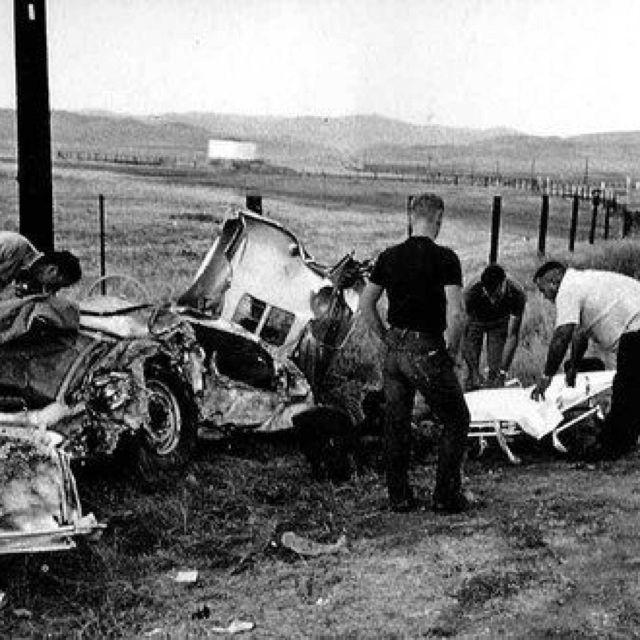 "James Dean Died In His Porsche Spyder He Named ""lil"