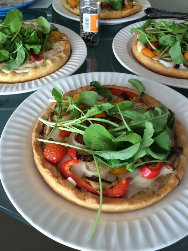 Cornmeal Crust Deep Dish Vegan Pizza: These are almost quiche like - super buttery - and a PERFECT way to use early summer veg and heirloom tomatoes! A perfect and simple spring/ summer dinner.