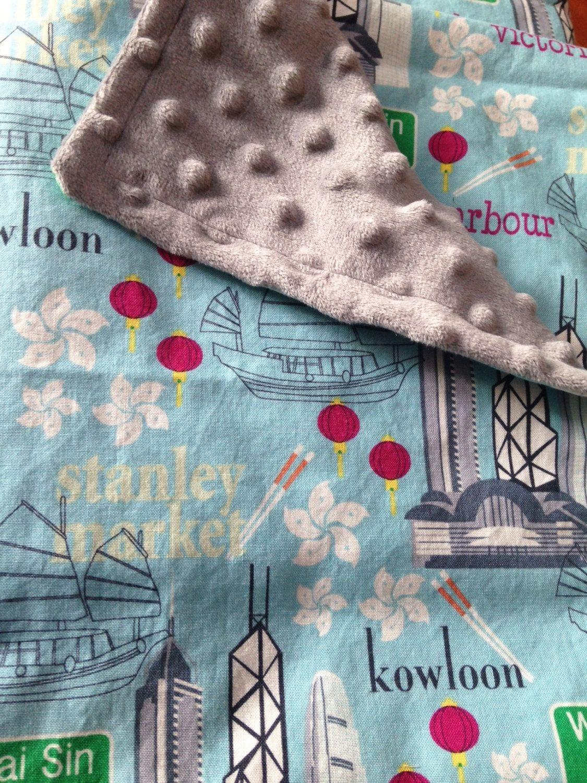 Hong Kong minky blanket - Kowloon, Stanley Market ...