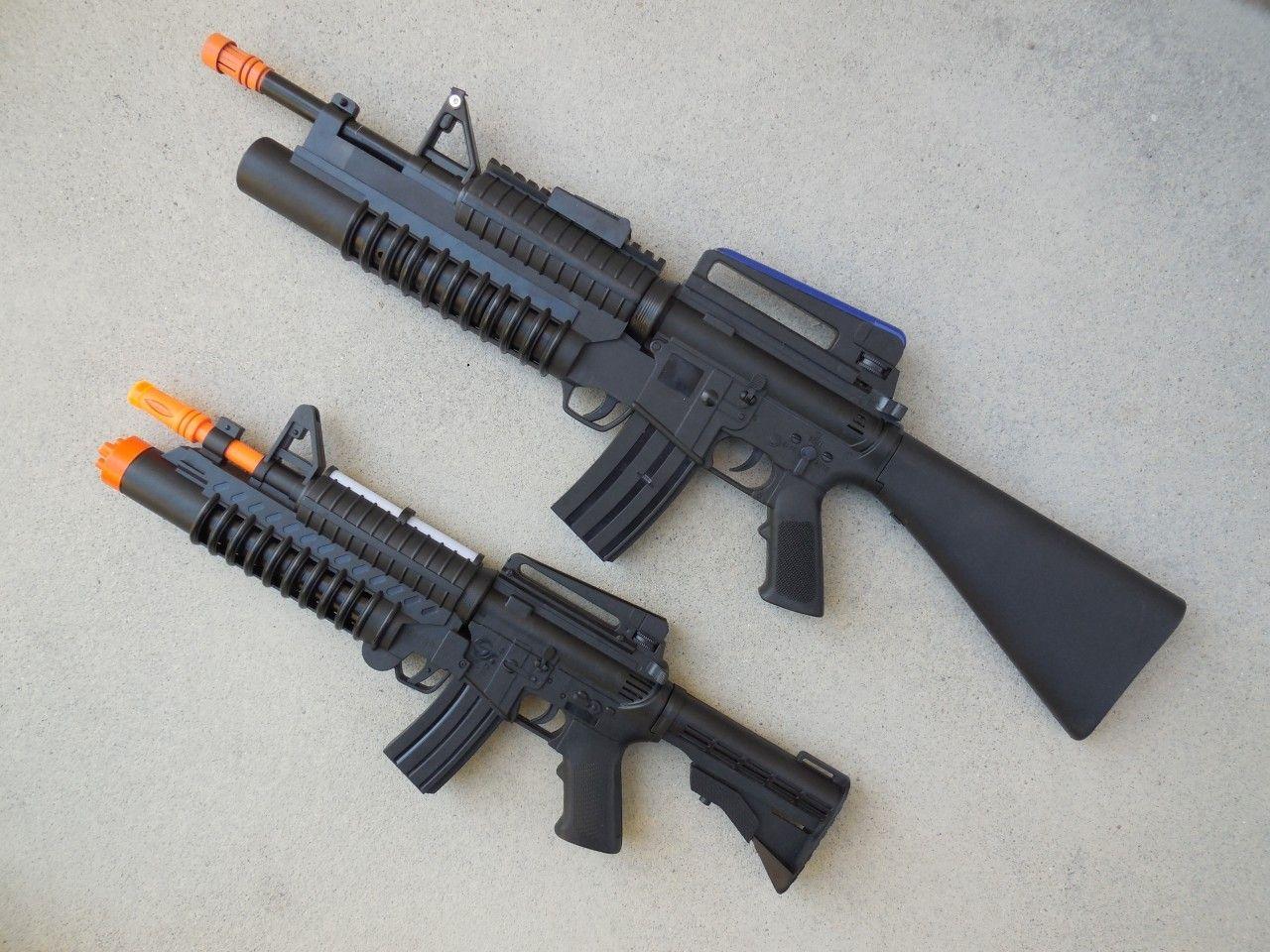 ToyGunZone - M16 Combo...