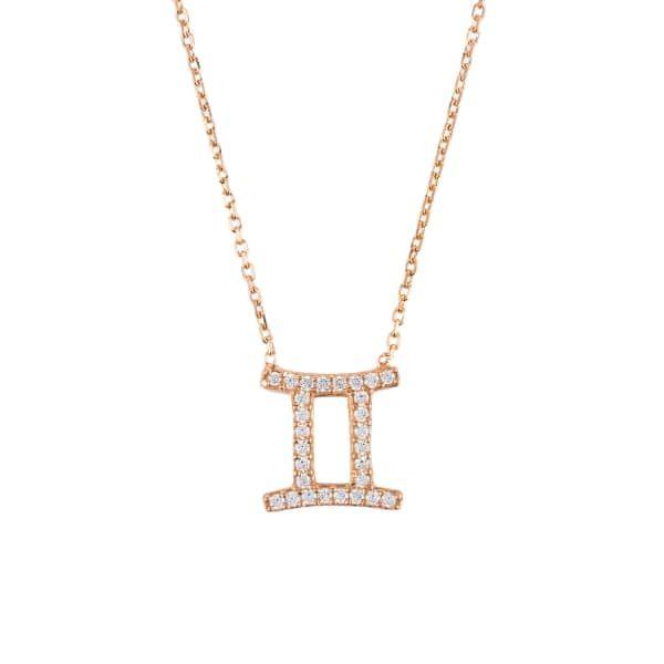 Latelita London Gemini Zodiac Bracelet Rose Gold 7brxa