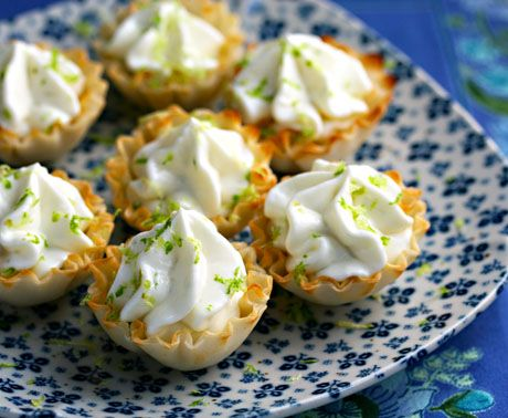 Mini phyllo dough cup recipes phyllo shells recipe for Phyllo dough recipes appetizers indian
