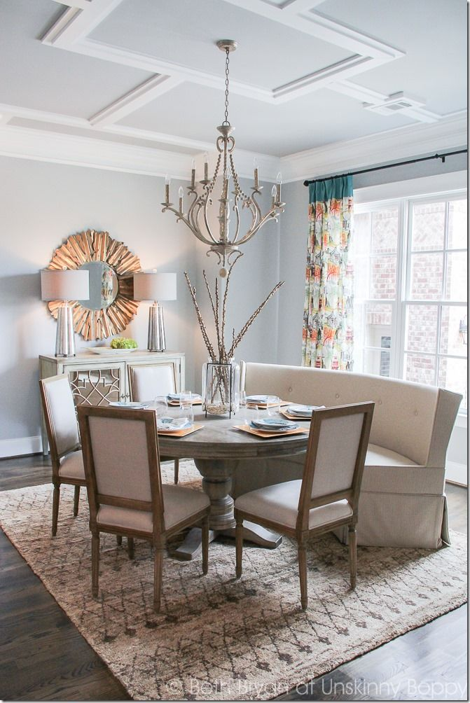 Dining Room Ceiling Details In The 2015 Birmingham Parade Of Homes Decorating Ideas Built By