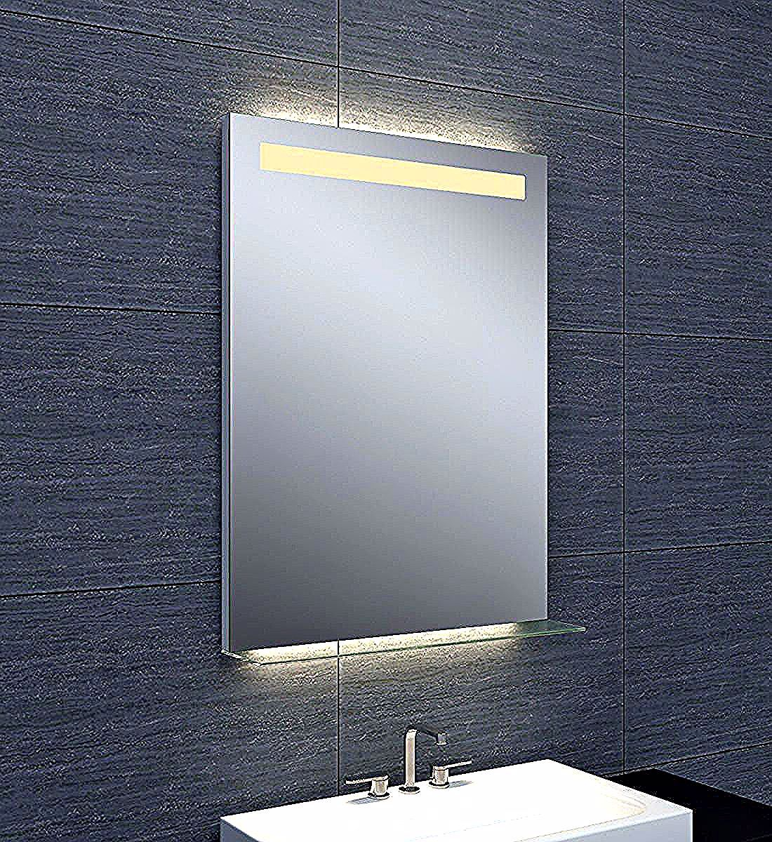 Hauteur Miroirs In 2020 Bathroom Mirror Lighted Bathroom Mirror Mirror