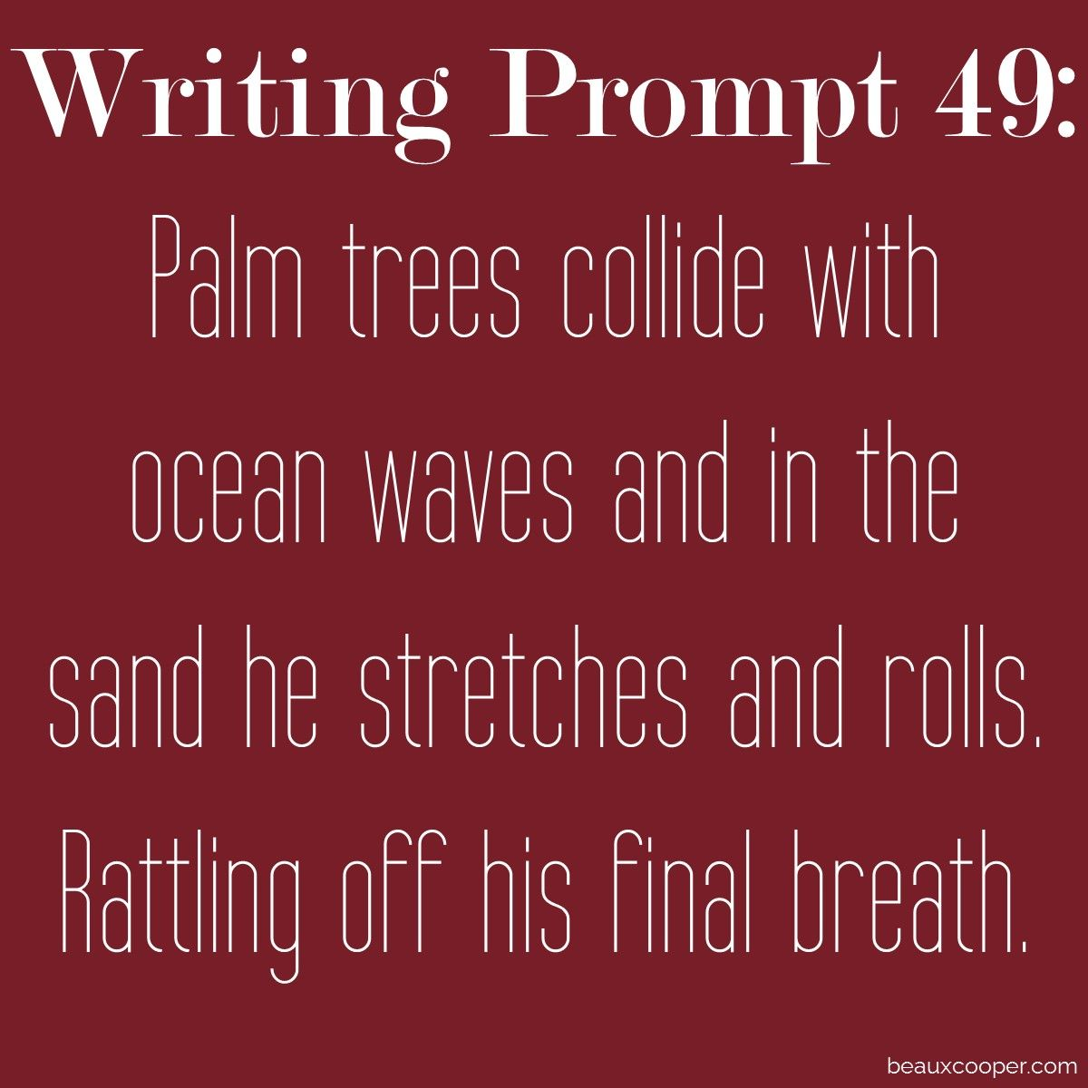 writing prompt forty-nine | writing prompts | pinterest | writing