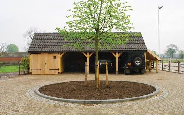 Oak Frame Garages Garage Building Plans Timber Garage Garages