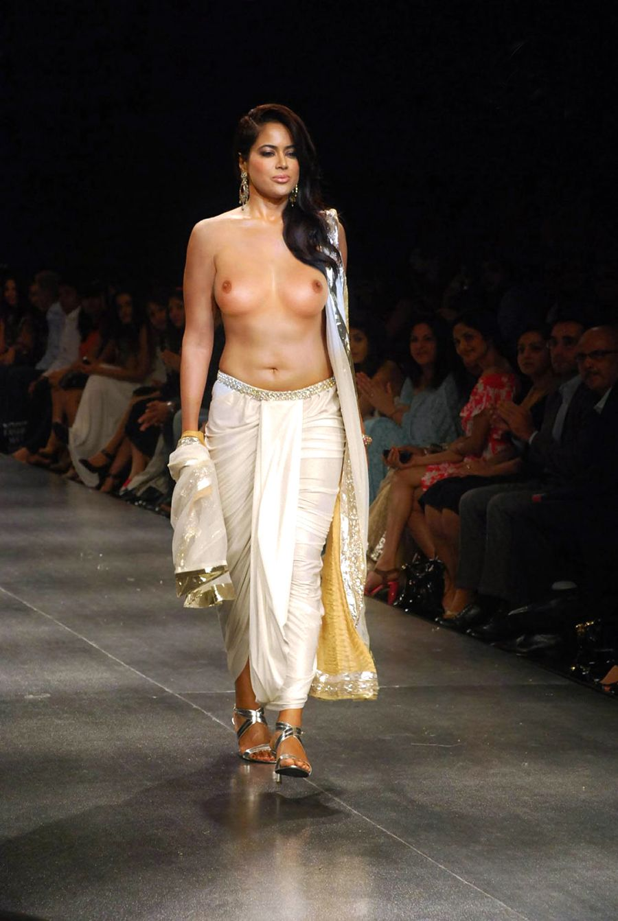 Pic Nude india runway
