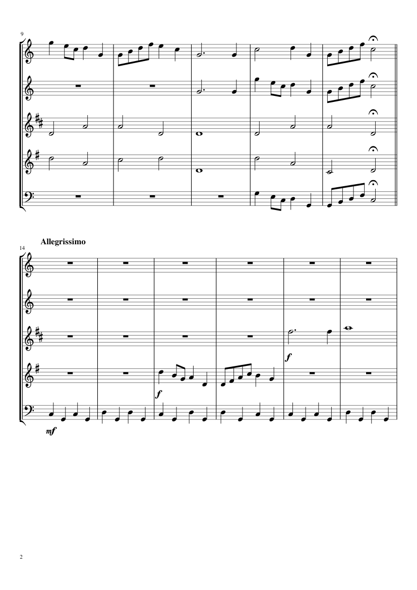 Peppa Pig Flute Notes : peppa, flute, notes, Peppa, Theme, Sheet, Music, Flute,, Clarinet, Flat),, French, Horn,, Instruments, (Woodwind, Quintet), Musescore.com, Music,