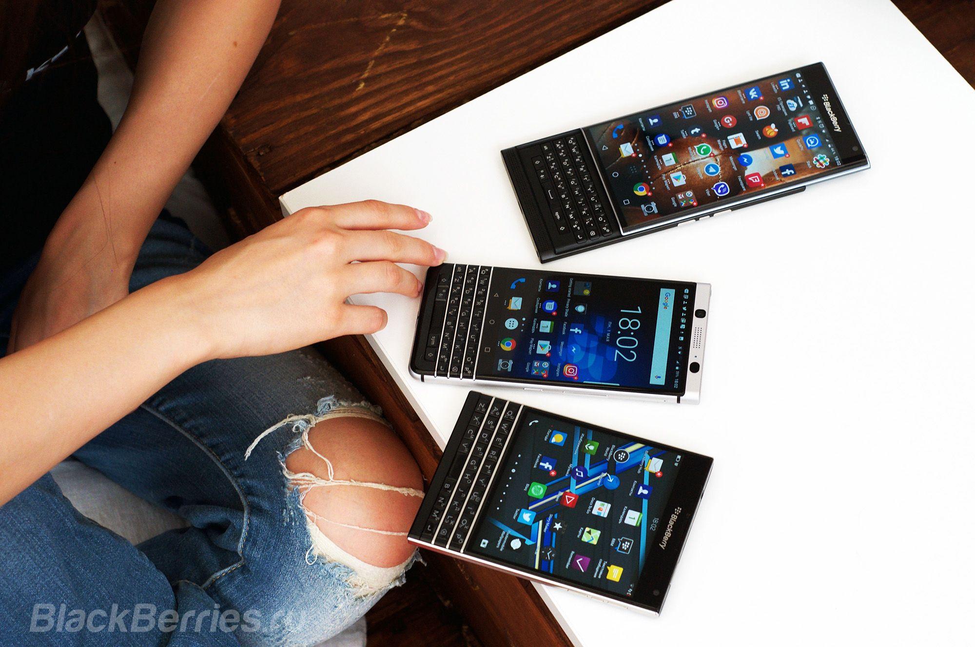 Снижена цена на BlackBerry Passport