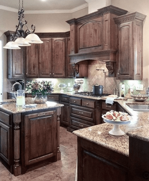 20 Dark And Elegant Kitchen Decoration Ideas Elegant Kitchens