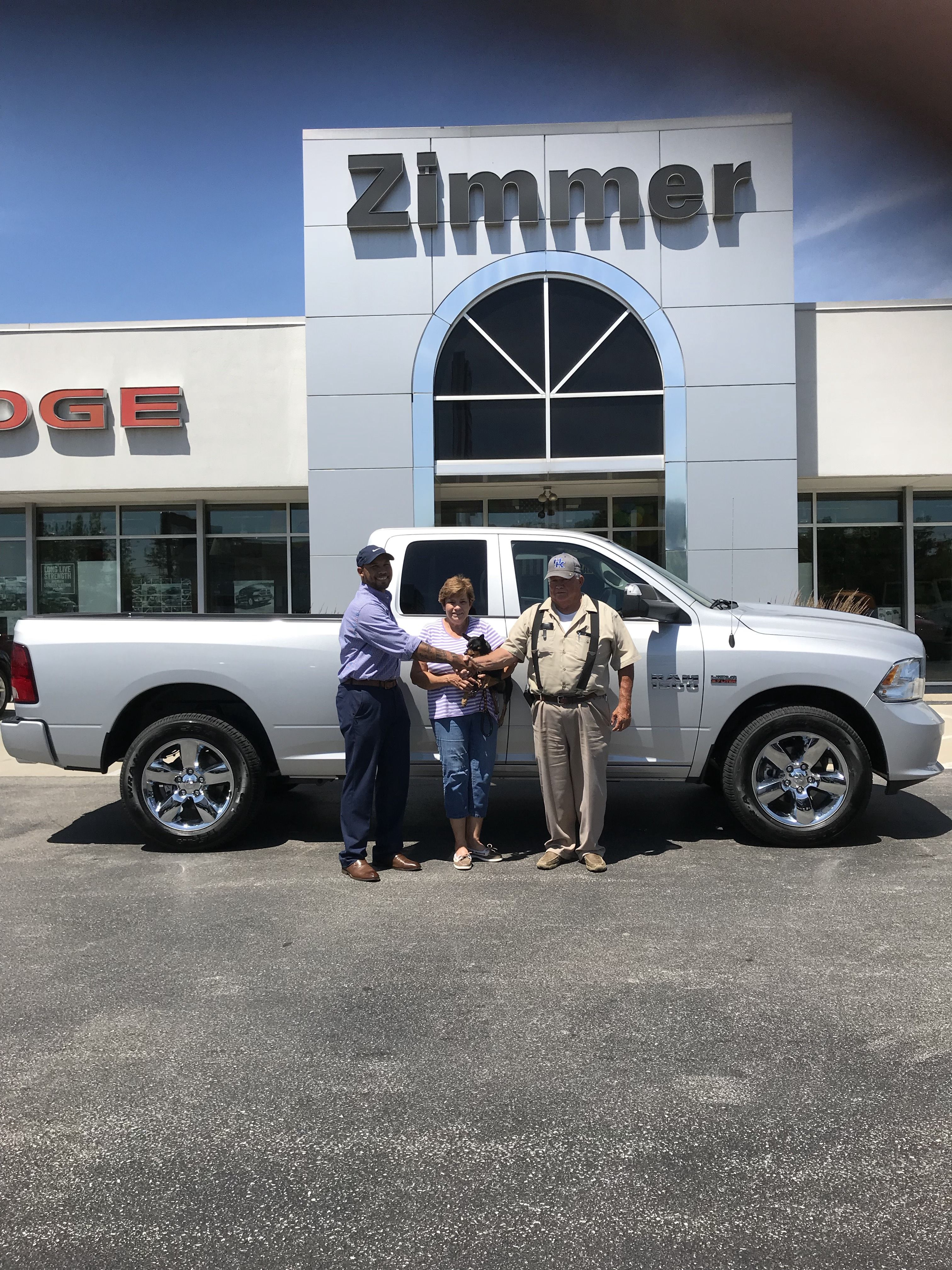 George Henderson Is All Smiles After Buying His New 2018 Ram 1500