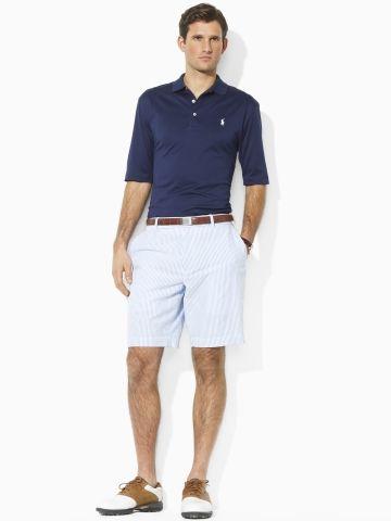 1ab3cd3cc4245 Fancy - Links Seersucker Short - Shorts Men - RalphLauren.com