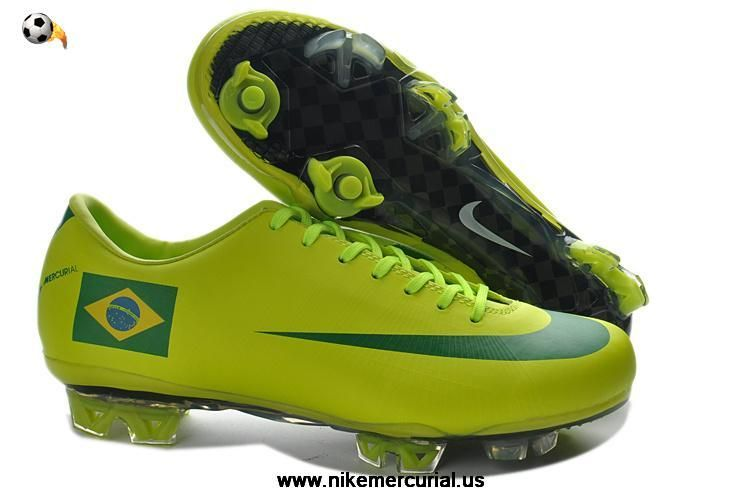 Latest Listing Cheap 2014 Nike Mercurial Vapor Superfly III FG Brazil Home  Team Soccer Boots Soccer Shoes For Sale