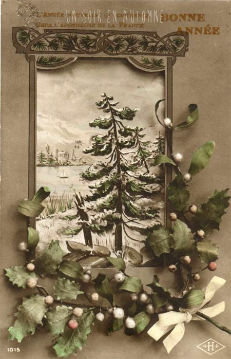 Carte Postale Ancienne Noel Christmas Art Holiday Greeting Cards Vintage Christmas Cards