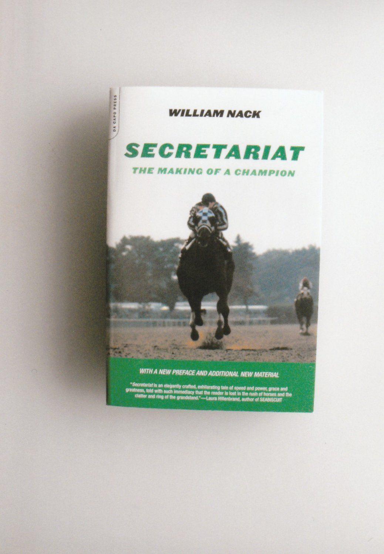 urzędnik autentyczna jakość gorąca wyprzedaż Secretariat+~+Making+Of+A+Champion+Paperback+Thoroughbred+ ...