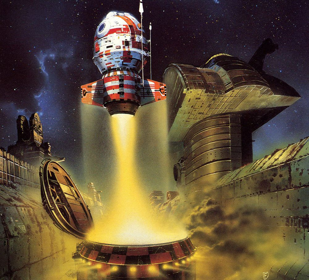 70s Sci Fi Art Chris Foss: The Art Of Illustration