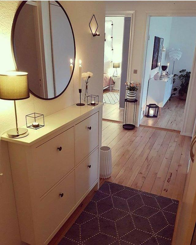 Entrée devant miroir - #devant #Entrée #miroir #zuhause #flurdekoration
