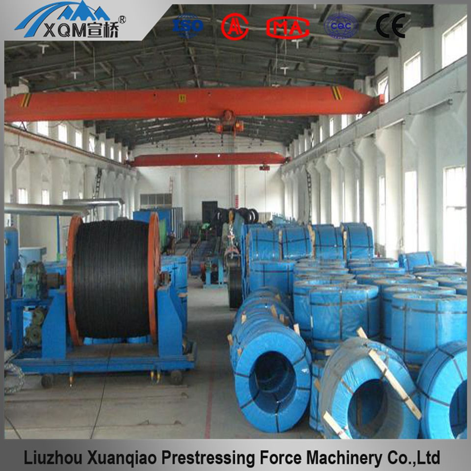 Post tensioning high tensile steel strand wire for prestressed ...