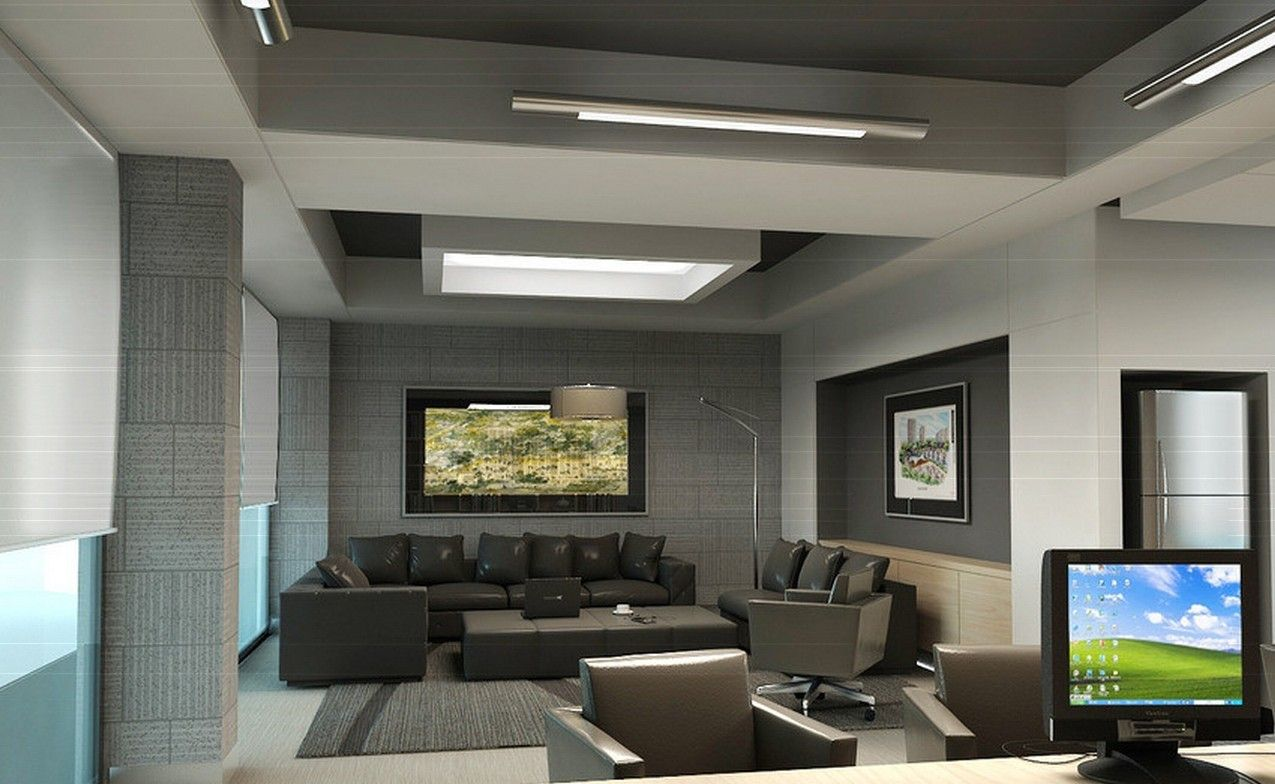 Ceo Office Design In 3d 3d House Free 3d House Pictures And Modern Office Design Office Design Trends Ceo Office