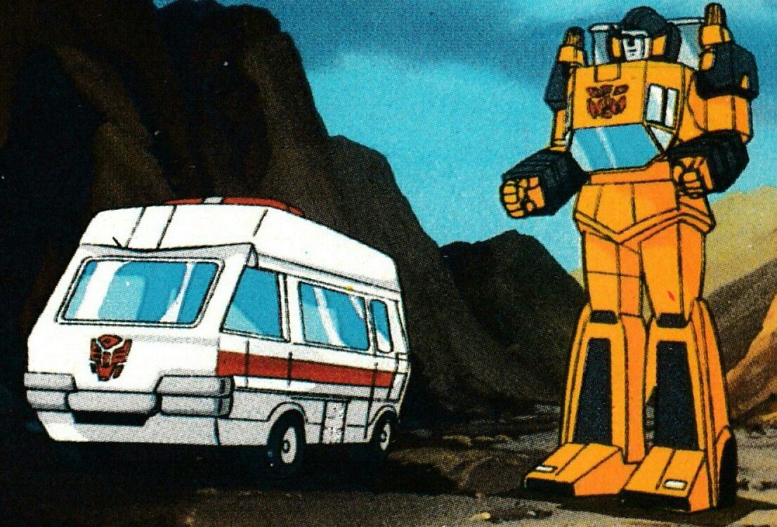 Ratchet & Sunstreaker