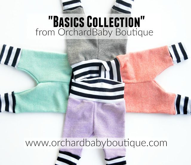 Basics Collection From Www Orchardbabyboutique Com