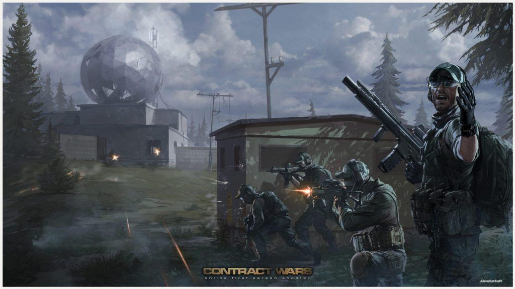Contract Wars Game Wallpaper Contract Wars Game Wallpaper