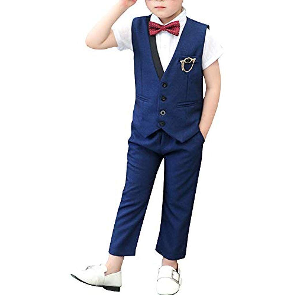 shengwan 2 stück junge kinder anzug hochzeit festlich