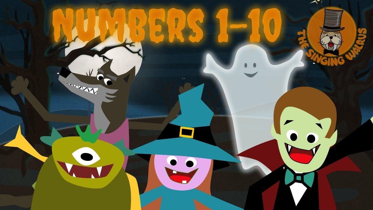 Halloween Song For Kids Halloween Creatures The Singing Walrus Halloween Preschool Halloween Creatures Halloween Counting