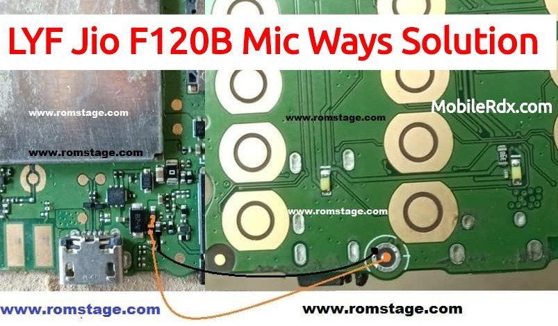 Lyf Jio F120b Mic Ways Solution Mic Problem Jumper