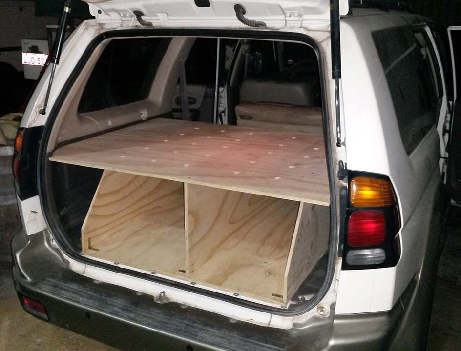 How To Convert A Suv Wagon Into A Camper The Cheap And Easy Way
